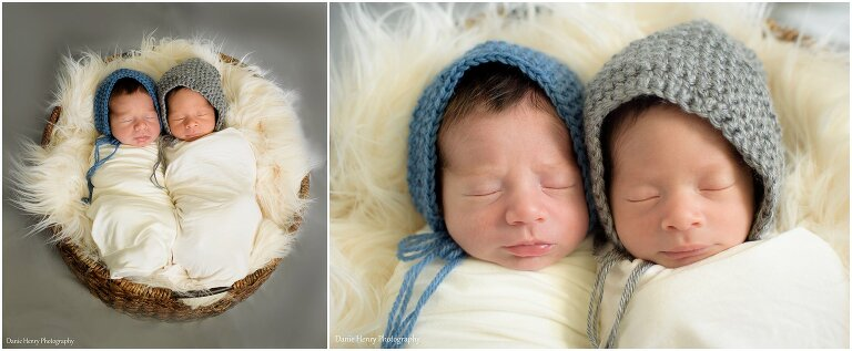 Twin Newborn Photography South Bay