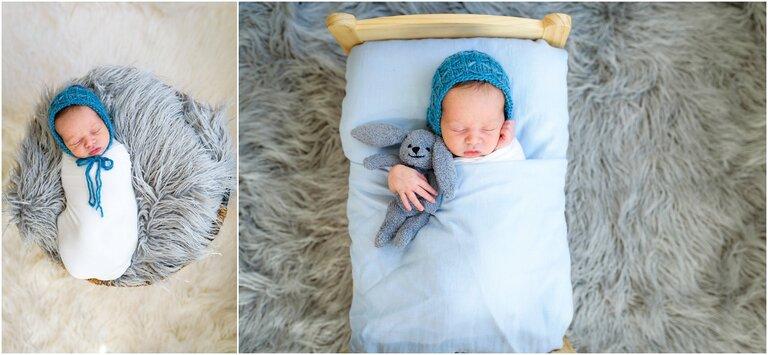 Newborn baby in Palos Verdes