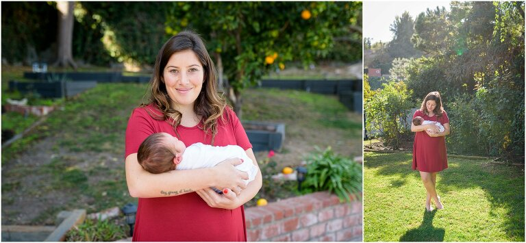 outdoor newborn photos palos verdes