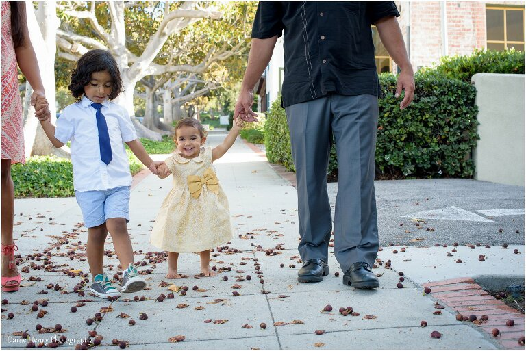 Family Photography in Torrance | Baby Alani is a walker