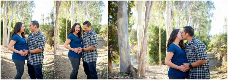 Maternity Poses South Bay