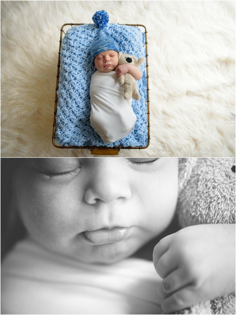 Redondo Beach Lifestyle Newborn Photographer
