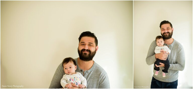 daddy and baby photos
